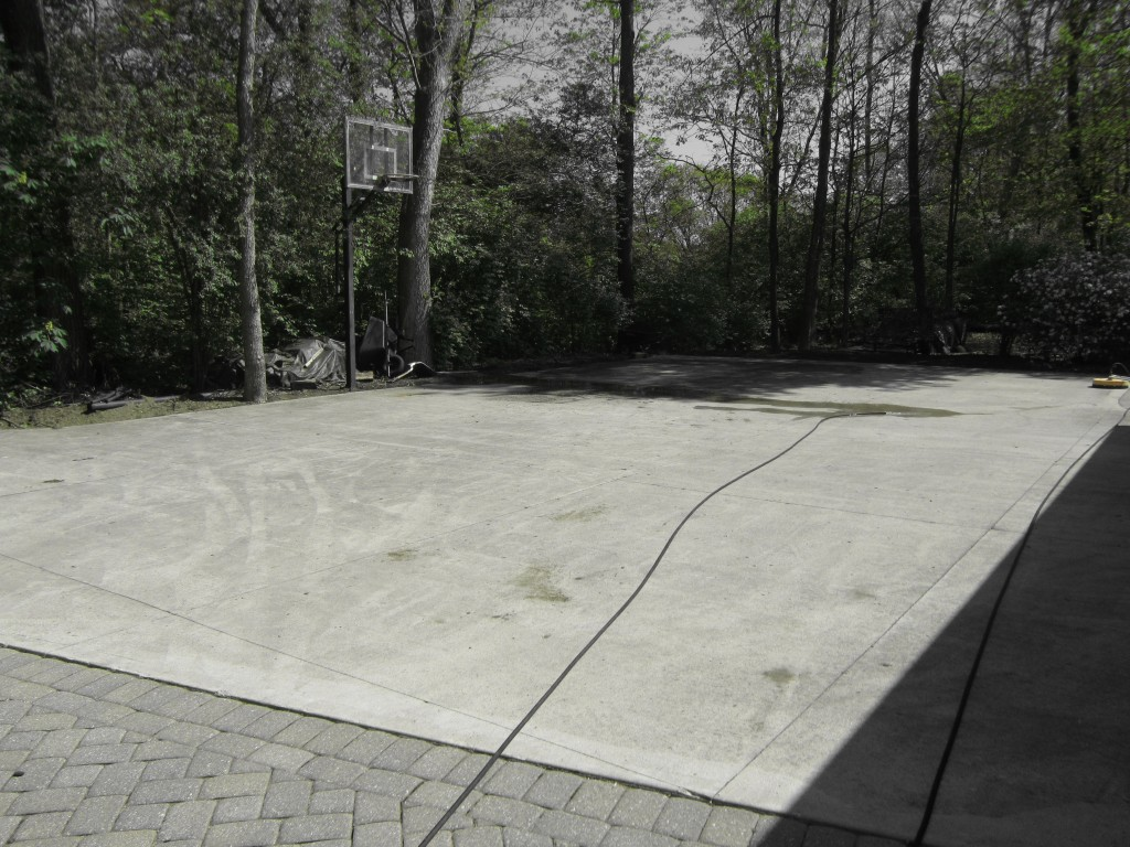 Before - Dayton Concrete Cleaning