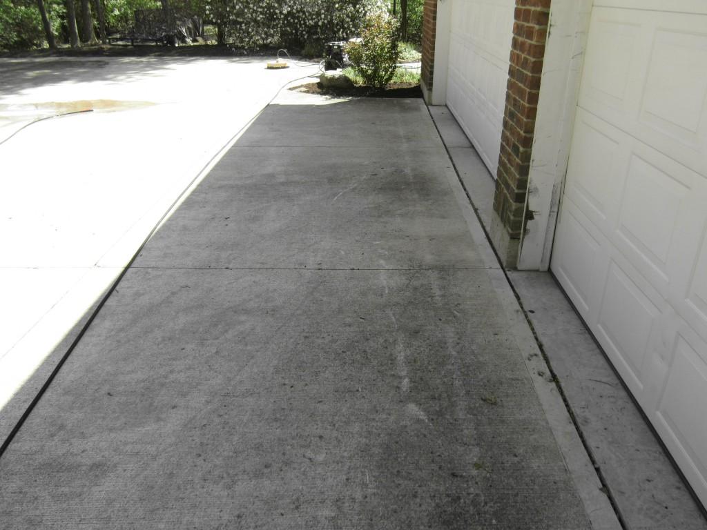 Before - Concrete Cleaning Dayton Ohio