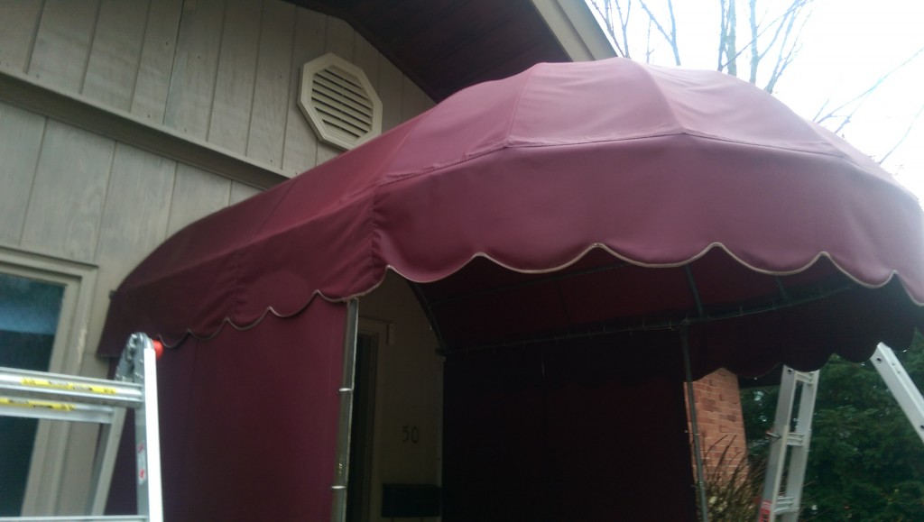 After Two Dudes Awning Cleaning in Oakwood