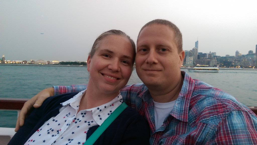 Wife & Me in Chicago